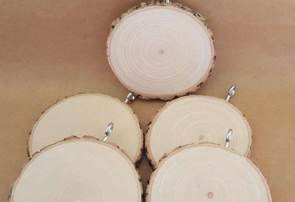 Pendant Tree Cookie – Pack of 5